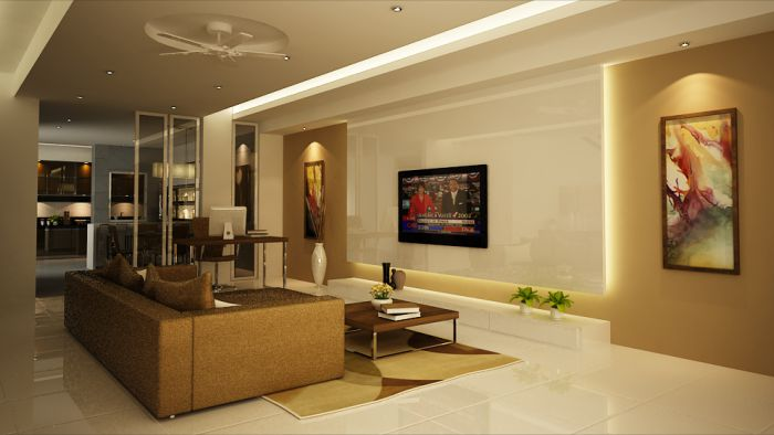 Malaysia interior design terrace house interior design for Complete interior design of a house