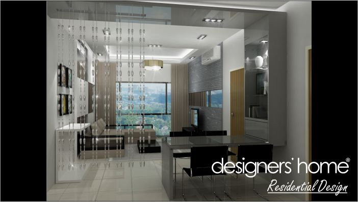 Condominium interior design home decorating ideas for Home design ideas malaysia