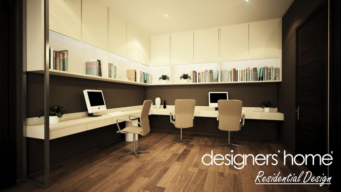 Should I Study Interior Design bungalow interior design – study area | malaysia interior design