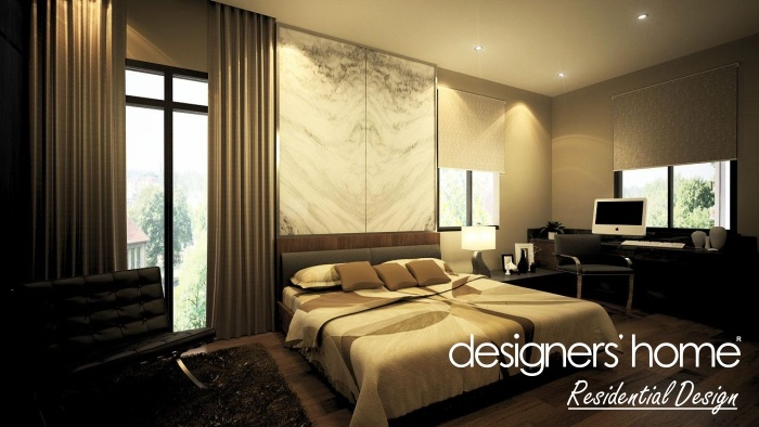 Bungalow interior design master bedroom a malaysia for Interior design of bungalow
