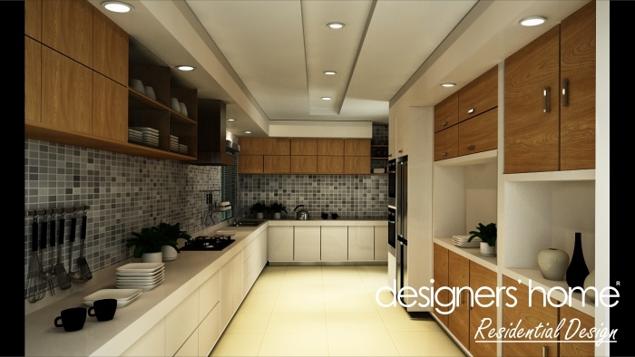 Semi d interior design wet kitchen malaysia interior for Indoor design malaysia