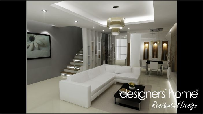 Home ideas modern home design interior design malaysia Interior design idea for semi d house