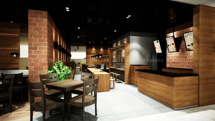 Cafe Meals Station Intermark Kl Malaysia Interior Design 1