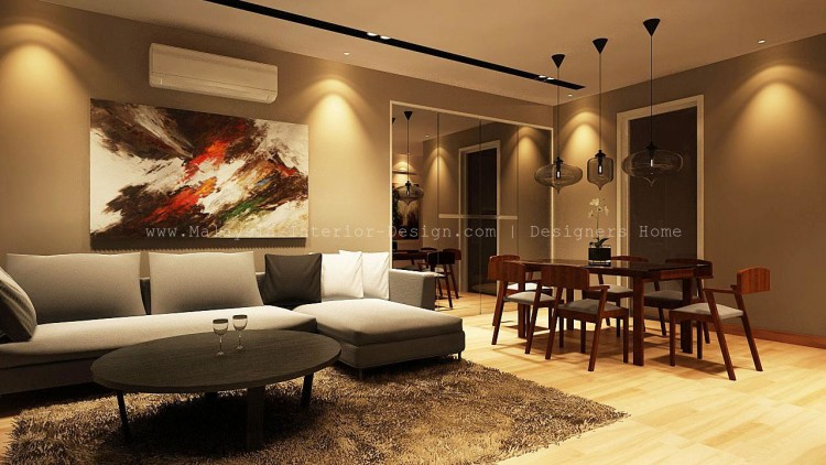 Malaysia home interior design creativity for Interior design styles condominium
