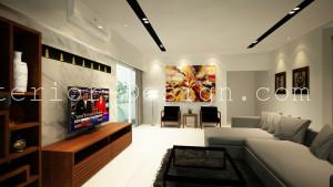 Attractive Condo Surian Residences Malaysia Interior Design 1