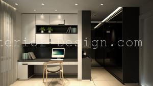 condo trigon luxury residences setia walk-malaysia interior design 12