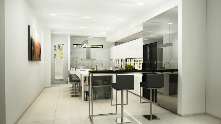 Malaysia interior design semi d interior design Interior design idea for semi d house