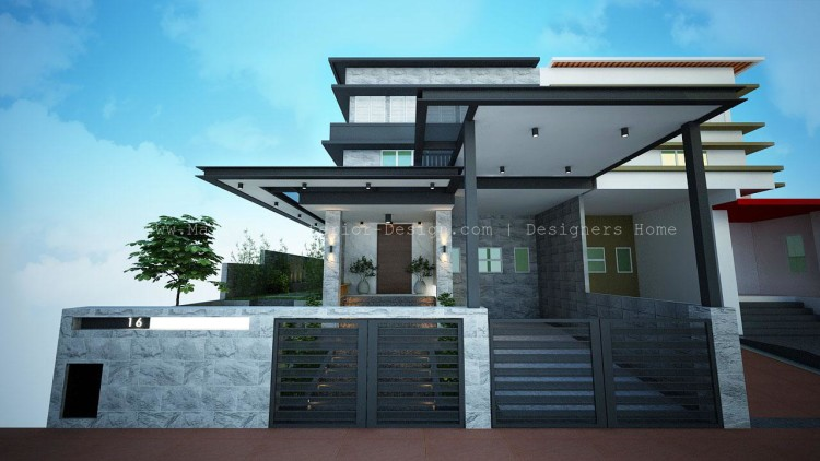 Malaysia interior design semi d interior design for Best house design malaysia