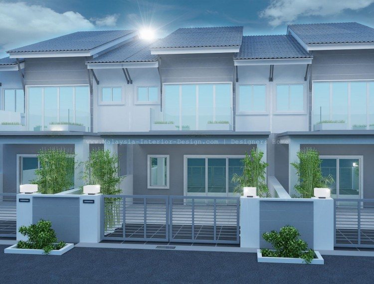 Terrace house design malaysia house decor for Best house design malaysia