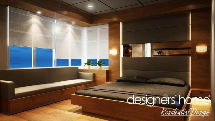 Semi-D Interior Design – Master Bedroom C | MALAYSIA INTERIOR DESIGN ...
