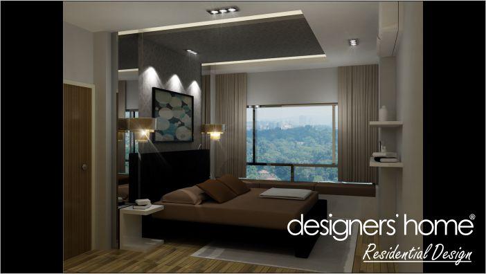 condominium interior design master bedroom malaysia interior