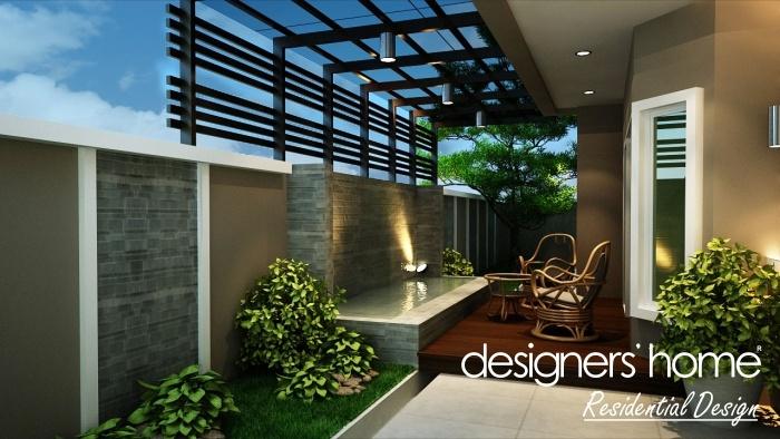 Home Design Ideas Malaysia: Semi-D Interior Design – Landscape Area