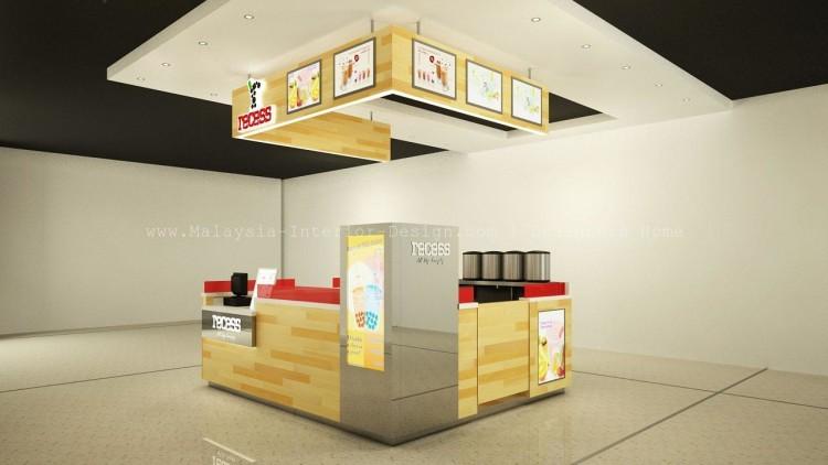 Kiosk Recess Pavilion Malaysia Interio Design 2